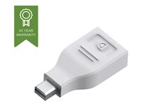 Vision Techconnect - Adaptateur DisplayPort - DisplayPort (F) pour Mini DisplayPort (M) - blanc TC-MDPDP
